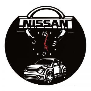 χειροροποιητο ρολοι τοιχου απο ξύλο Nissan